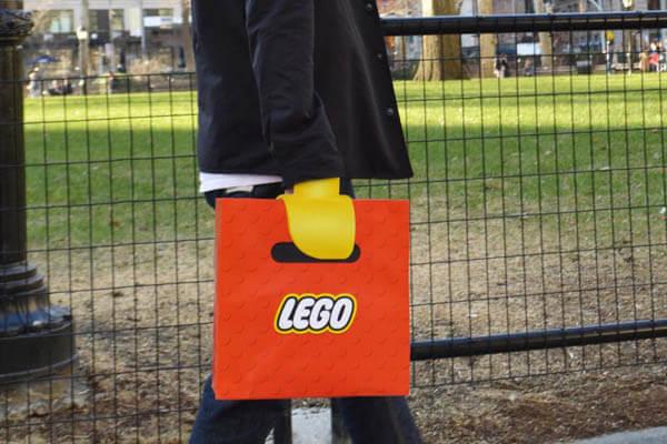 レゴ(LEGO)の紙袋