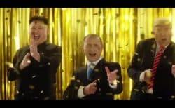 【トランプ・金正恩・プーチンが夢の競演】香港携帯会社のCM