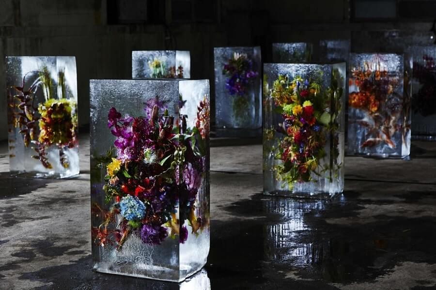 【氷に花を閉じ込める】東信(Azuma Makoto)のIced Flowers