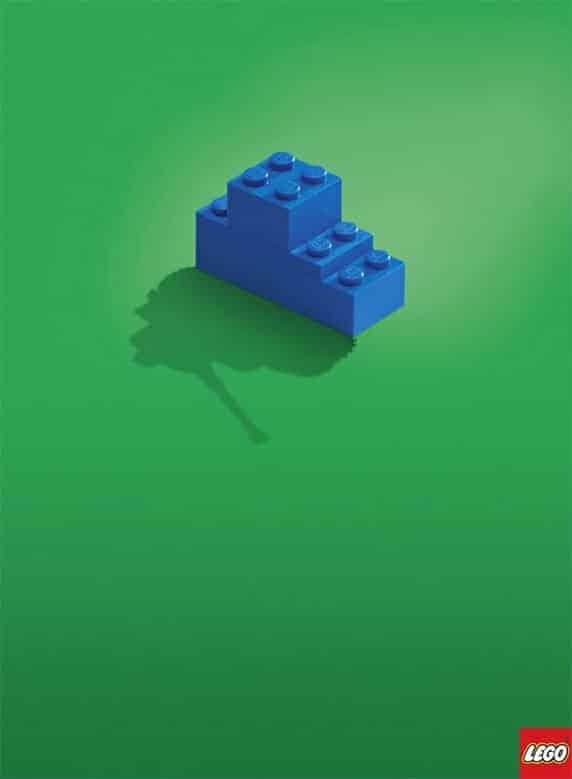 LEGOの広告