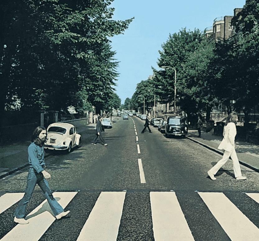 beatlesの「abby road」の6feetcovers