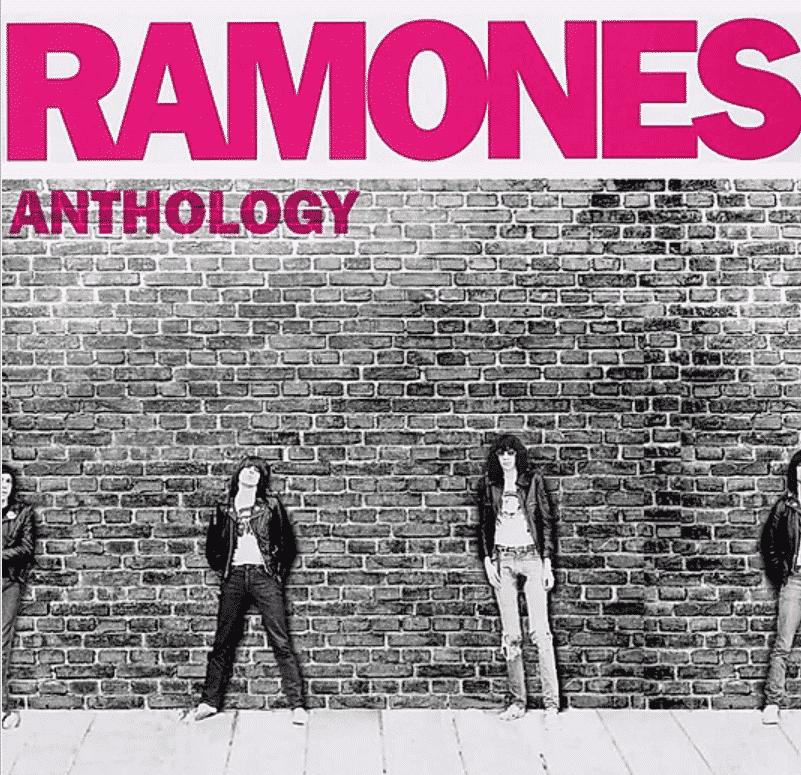 ラモーンズの「Anthology」の6feetcovers