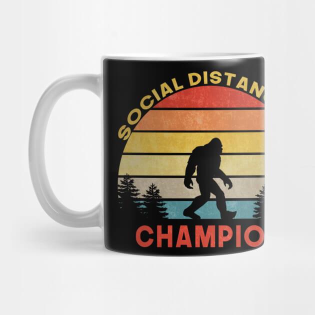 マグカップ(Social Distancing World Champion)