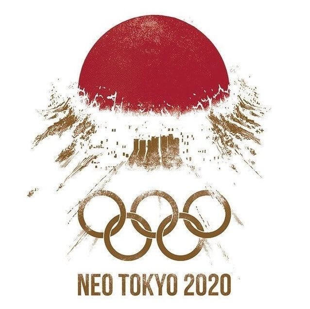 AKIRA風東京オリンピックロゴマーク
