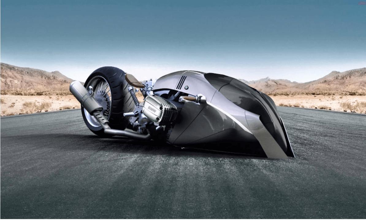 近未来を予感させるスタイリッシュなバイク[BMW R1100]