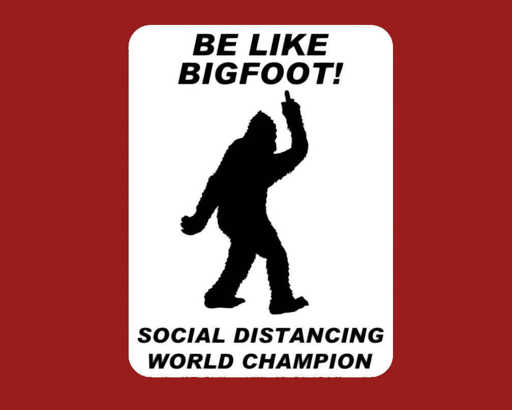 Social Distancing World Champ bigfood