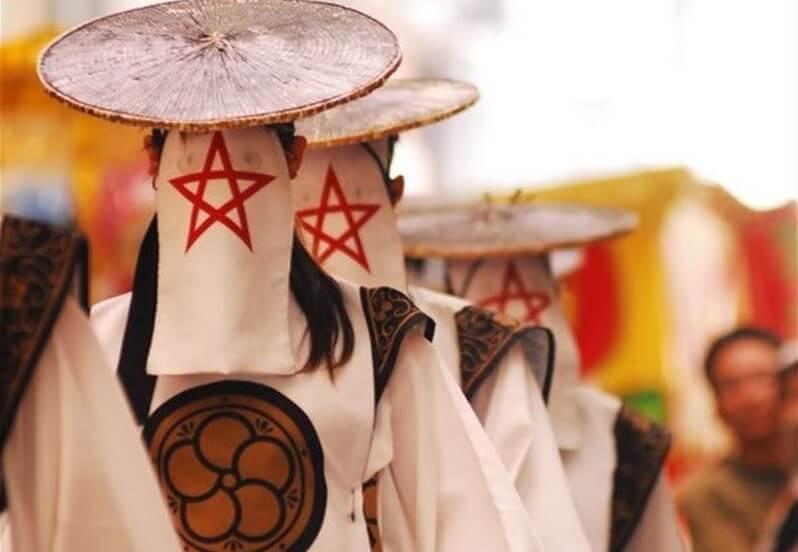 和踊り集団の太宰府まほろば衆