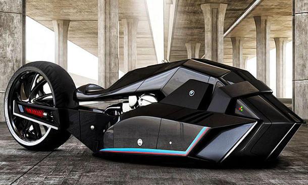 近未来を予感させるスタイリッシュなバイク[BMW TITAN]