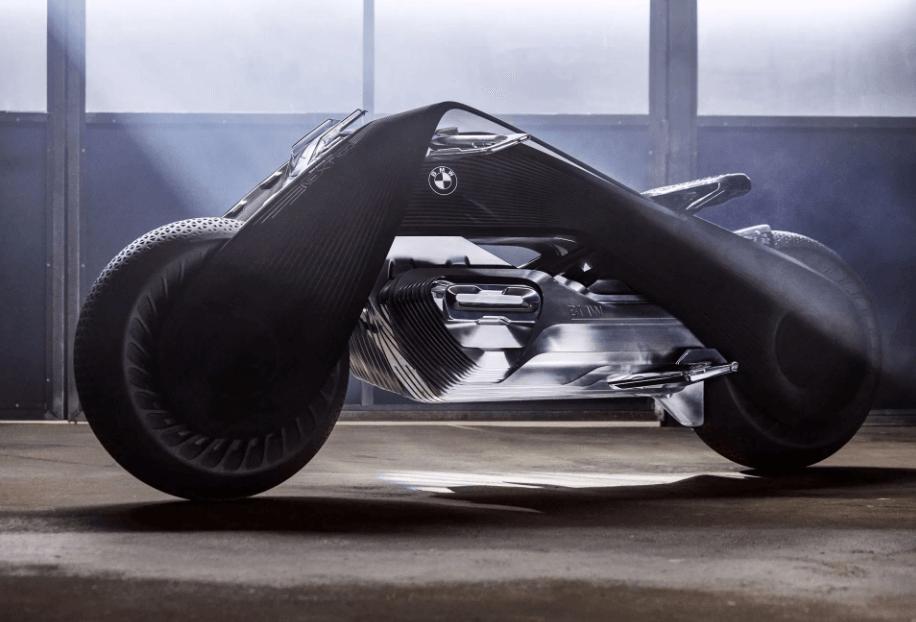 近未来を予感させるスタイリッシュなバイク[BMW Motorrad VISION NEXT 100]
